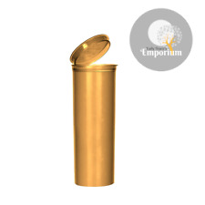 10 Pcs Large 60 Dram GOLD Opaque RX® Pop Top Bottle Vial Medical Herb Containers