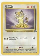Pokemon Unlimited Edition Jungle set Meowth 56/64 common NM Condition