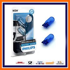 2x Philips White Vision w5w Xenon Look luz de estacionamiento luz de posición peras citroen