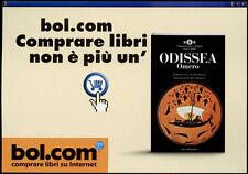 cartolina pubblicitaria PROMOCARD n.2238 BOL.COM SITO LIBRI collection n.2