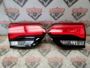 2015-2020 Jeep Grand Cherokee SRT OEM Left & Right Rear Tail Lights (liftgate)