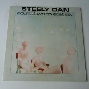 Steely Dan - Countdown To Ecstasy - Vinyl LP UK 1st Press Textured EX+/EX+