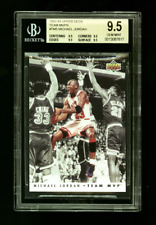 1992-93 Upper Deck Team MVPs MICHAEL JORDAN BGS 9.5 GEM MINT #TM5 Insert Card
