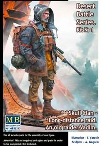 Skull Clan - Long-distance raid.  An old raider. Vadim  1/35 MasterBox 35213