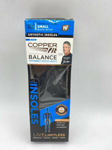 Copper Fit Balance Copper Infused Orthotic Insole, Small
