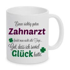 Einen guten Zahnarzt... Tasse Kaffeetasse Kaffeebecher Geschenk Weihnachten
