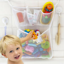 2Pcs Large Baby Kids Bath Bathtub Toy Mesh Net Storage Bag Organizer Bathroom Us