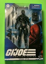 "G.I. Joe Classified Series Snake Eyes Hasbro 6""  MISB G.I.Joe GIJoe G.I. Joe 02"