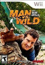 Man vs. Wild With Bear Grylls RE-SEALED Nintendo Wii & WII U GAME