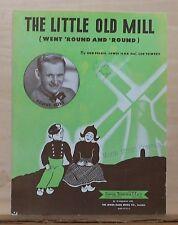 "The Little Mill (Went 'Round And ""Round) - 1947 sheet music - Sammy Kaye photo"