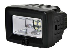 KC HiLiTES C-Series 2in. C2 LED Light 20w Area Flood Beam (Pair Pack) - Black