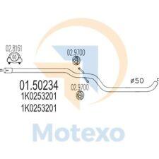 MTS 01.50234 Exhaust AUDI A3 Sportback 1.9 TDi 105bhp 09/04 - 05/06