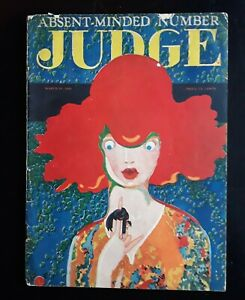 Absent-Minded Number Judge Humor Magazine 3/20 1926 Full Issue