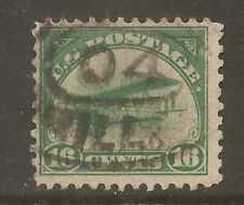 C2 VF FIRST AIRMAIL, NICE USED  REGISTRY CANCEL, FREE SHIPPING IN USA