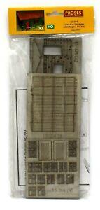Proses LS-004 (Bachmann 39101) HO laser Cut Cottages (2) wood Craftsman Kit NIB