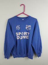 VTG RETRO MENS BRIGHT BOLD USA ATHLETIC SPORTS OVERHEAD SWEATSHIRT JUMPER UK M
