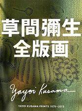 YAYOI KUSAMA  ALL PRINTS 1979-2013 JAPAN 2013