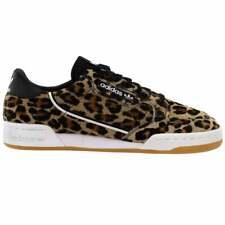 Adidas Continental 80 Leopardo Tênis Masculino Casual-Marrom