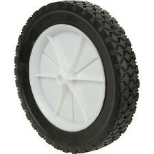 NEW Wheel 200mm, Plastic wheel with black treaded tyre. 13mm bore, DIY, BBQ