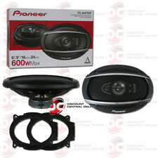"""NEW PIONEER TS-A6970F 6"""" x 9"""" 5-WAY CAR AUDIO SPEAKERS (PAIR) 600W MAX"""