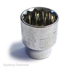 "Stanley Maxi-Drive 12 Point Socket 1//2/"" Drive 11mm Chrome Vanadium"