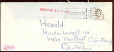 Netherlands 1992 Cover To Germany #C14466