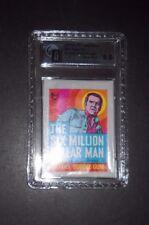 1974 SIX 6 MILLION DOLLAR MAN (TEST) CARD PACK TOPPS  GRADED GAI 9.5 *GEM MINT*