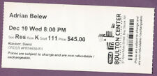 Adrian Belew Ticket Stub Boulton Center Bay Shore 2014 original