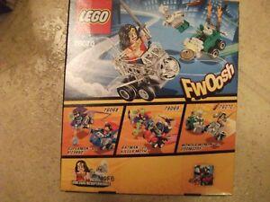 Wonder Woman Vs. Doomsday  Lego 76070 Building Kit unopened