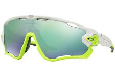 Oakley Sunglasses Jaw Breaker Polished White w/Jade Iridium  OO9290-03
