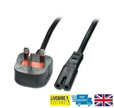 UK Power Lead Cable For Philips Hi-Fi System FWP3200D FWP3100D FWP1000 FWM6000