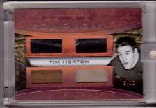 TIM HORTON 16/17 Leaf Ultimate Game-Used Glove Patch Stick Pants #/12 Bronze SP