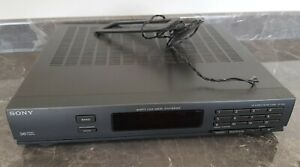 Sony ST-D50L FM Stereo Radio FM/AM Tuner, Quartz Lock Digital Synthesizer Tested