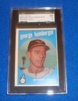 1959 Topps George Bamberger Card #529 SGC 60 EX 5 Orioles
