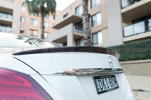 AMG Style Spoiler For 2015-2020 Mercedes-Benz W205 C-Class Sedan (GLOSS BLACK)