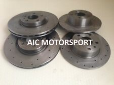 Peugeot 406 coupe 4 disques sport brake discs