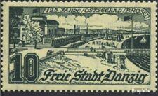 Danzig 259b gestempelt 1936 Ostseebad Broesen