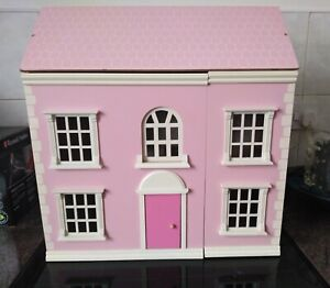 Wooden Pink dolls house