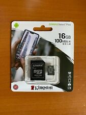 Kingston Micro SD Canvas Select Plus Memory Card 16GB 100 MB/S A1