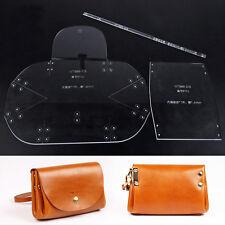 WUTA Mini Lady Clutch Handbag Leather Template Acrylic Pattern Craft Tool 966