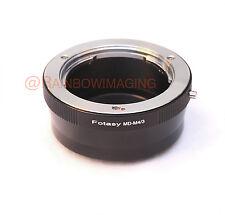 Minolta MD lens to Panasonic M4/3 MFT G85 GX85 GX850 GH4 GH5 Camera adapter