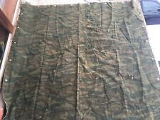 RARE BOSNIAN SERB GREEN TIGERSTRIPE CAMOUFLAGE TENT WING SHELTER PONCHO  SERBIA