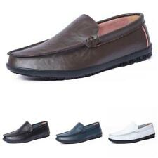 Mens Pumps Slip on Loafers Flats Soft Comfy Breathable Driving Moccasins Shoes D