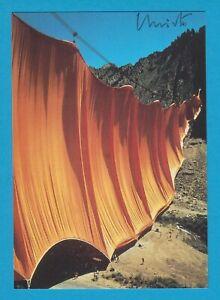Christo - KPK - Valley Curtain - original signierte KPK