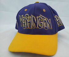 University Washington Huskies purple mascot Siberian ncaa hat cap UW fitted lid