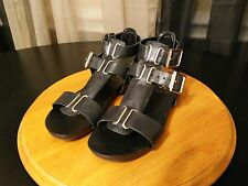 Vince Camuto Pixie Womens Leather Gladiator Sandals Shoes Size:5M