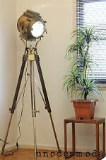 Classic Hand Crafted Tripod Floor Lamp - Replica US Movie Stage Light  RRP $1499