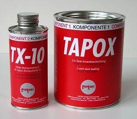 Tapox ethanol resistant Petrol Tank Sealer Bsa