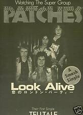 Patches Super-Group 1976 Promo Poster Ad Look Alive