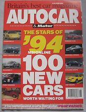 AUTOCAR 1/12/1993 featuring Subaru SVX, Citroen Xantia Ford Mondeo